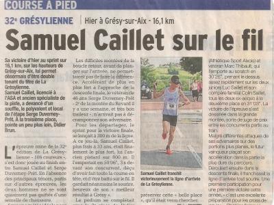 Article 2014 Dauphiné Libéré 1
