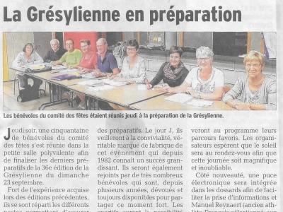 Article 10/09/2018 Dauphiné Libéré