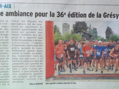Article 24/09/2018 Dauphiné Libéré