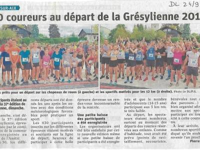 Article 24/09/2019 Dauphiné Libéré