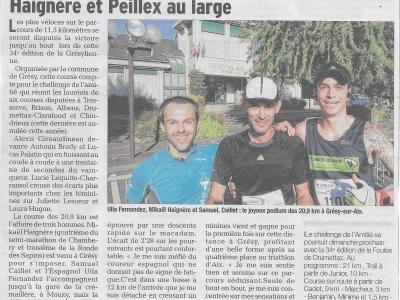 Article 2016 Dauphiné Libéré 3