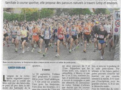 Article 07/09/2017 L'Essor Savoyard