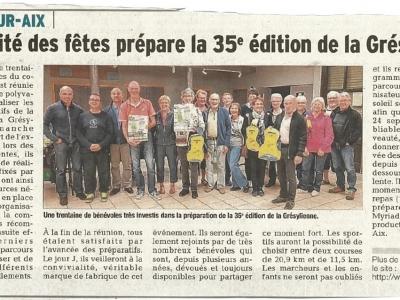 Article 21/09/2017 Dauphiné Libéré