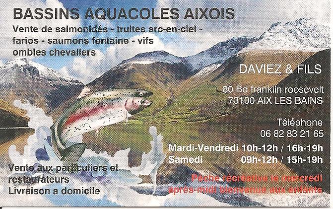 Bassins Aquacoles Aixois