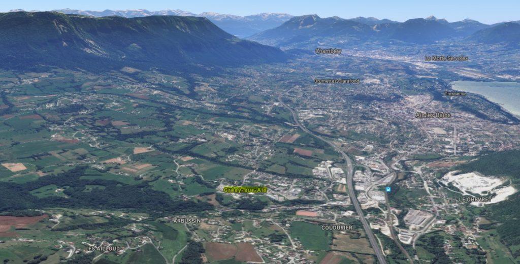 Organisation sur la commune de Grésy sur Aix