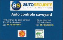Auto Controle Savoyard