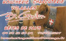 GENILLON Boucherie
