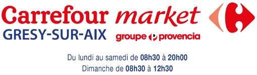 Carrefour Market Grésy sur Aix