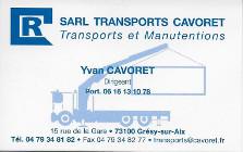 Transports Cavoret