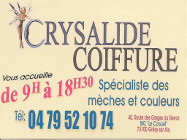 CRYSALIDE COIFFURE