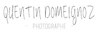 Photographe Quentin Domeignoz