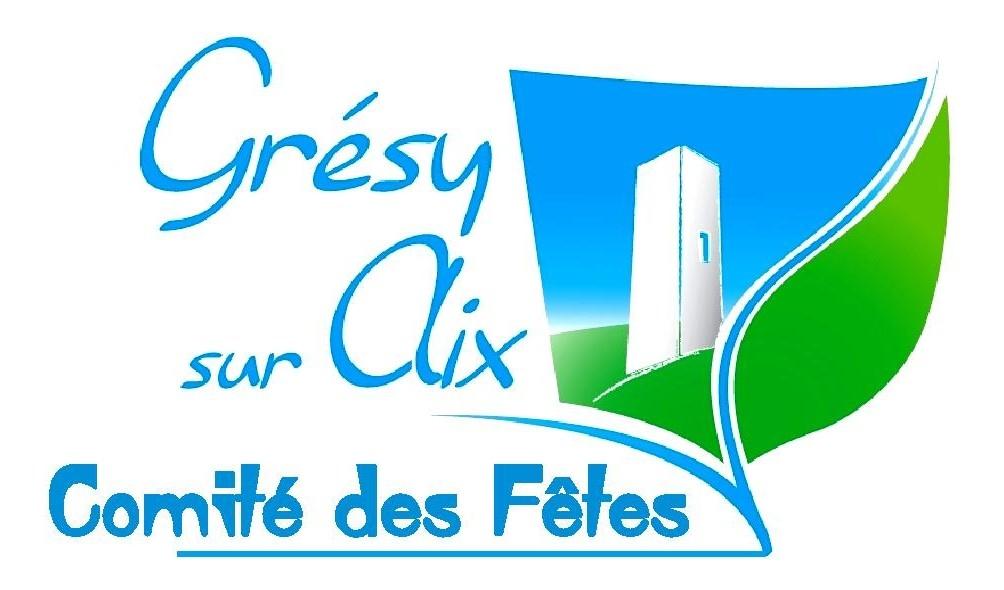 Organisation par le comité des fêtes de Grésy sur Aix